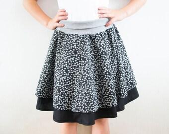 BUNDLE: Dyyni Skirt & Dyyni Ladies Skirt Pattern, sizes 2y - 16y + 2 - 20