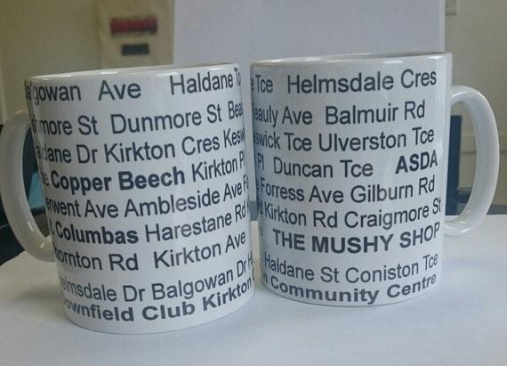 Kirkton Dundee Street Mug
