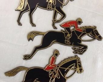 Invicta Horse Plaques, England
