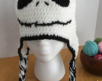 Crochet Skeleton Hat