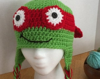 Crochet Turtle Hat