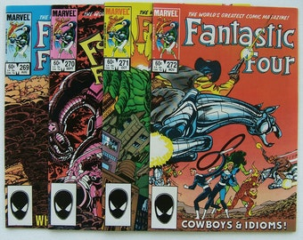 Fantastic Four issues 296 to 272