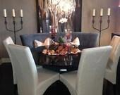 Round Pedestal Table - Customizable