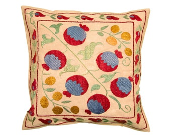Cushion Cover - VINTAGE SUZANI DESIGN 9 - 40 x 40
