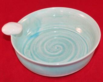 Wheel thrown Pottery Omelet Maker
