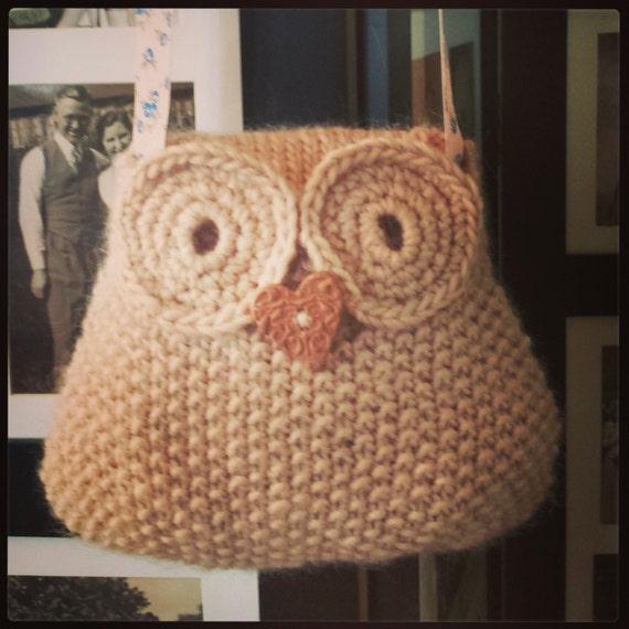 Owl Bag Knitting Pattern : Owl Bag Knitting Pattern