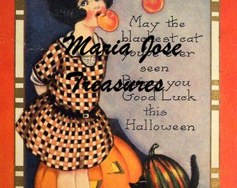 Vintage Halloween Images - Digital Download