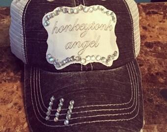 Honkytonk Angel trucker hat