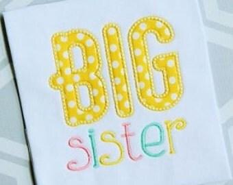 Big/Little Sister Shirt