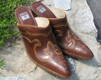 Frye Shoes - Frye Clogs -  western Style