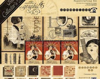 Pre order Graphic 45 Communique Collection Kit