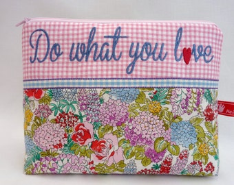 Cosmetic bag, Do what you love