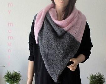 TRIANGLE SCARF, Alpaka / Wool