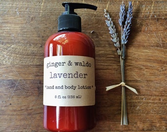 Lavender Hand and Body Lotion - Lavender - Hand and Body Lotion - Lavender Lotion - Vegan Lotion - Body Lotion - Hand Lotion