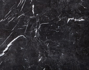 Negro Marquina // Marble table top // custom sizes available