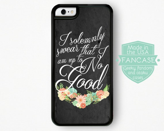 Harry Potter iPhone 6 Harry Potter iPhone 6S Case I Solemnly Swear That I Am Up To No Good iPhone Case iPhone 6 Plus Marauder's Map