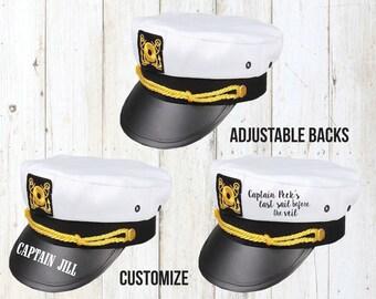 Sailor Captain Hats Nautical Cruise Bachelorette Party Yacht