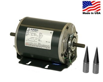 Bench Polishing Motor Double Spindle Jewelry Polish Buffing Lathe 3450rpm 115v WA 416-005-1
