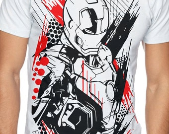 IRON MAN LIMITED Marvel T-shirt - Empire Art