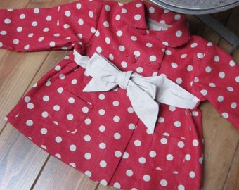 Pattern sewing coat MARGUERITE 8-10-12 years