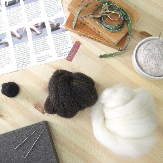 Border collie needle felting kit border collie craft kit for Dog crafts for adults