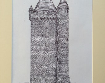 Scrabo Tower, Co. Down Print