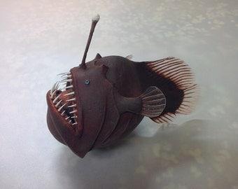 Fish resin model Lucerne