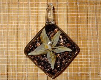 Lampwork Pendant / Glass Pendant