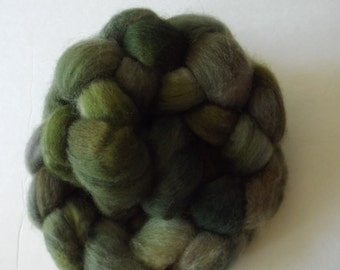 Handpainted BFL roving for spinning or felting 10221501