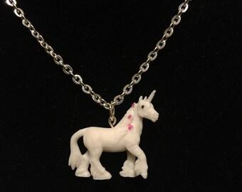 Mythological Pets - Unicorn Necklace