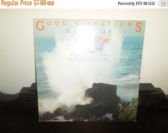 Save 30% Today Vintage 1975 LP Record The Beach Boys Good Vibrations Best Of Volume One Very Good Condition Reprise Records 4929