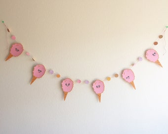 Pink Cotton Candy - Fun Banner