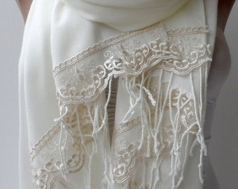 Wedding shawls Ivory Pashmina shawls Champagne French Lace Dainty Lightweight Soft Cream Bridesmaid Summer Bridalshawl Christmas Shawl Gifts