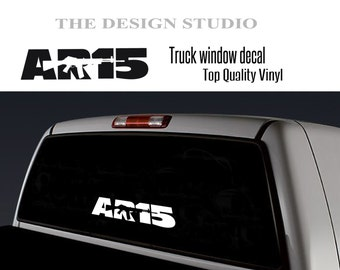 Ar  Decal Etsy - Window decal custom vinyl