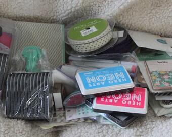Grab Box of Crafting Supplies *FREE SHIPPING*