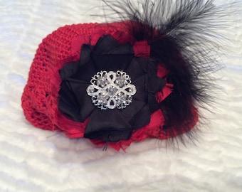 Crochet holiday hat