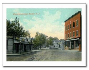 Boonton Ave., Butler New Jersey NJ REPRO Vintage Postcard