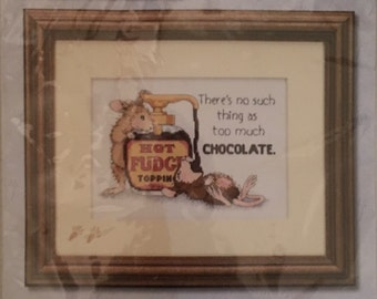 House-Mouse Designs Counted Cross Stitch Kit Hot Fudge by Dimensions