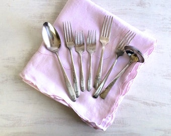 7 Pieces of Silver Forks & Spoons