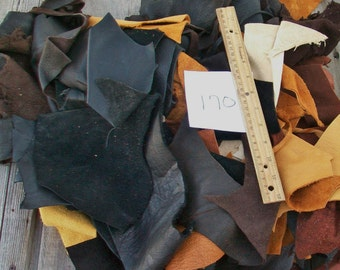 Soft leather scraps , Scrap leather , Leather remnants