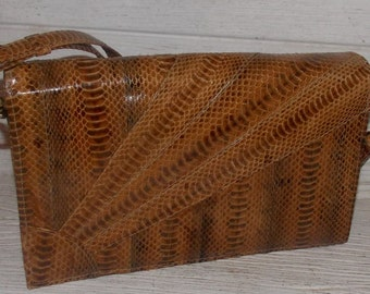 Vintage Snakeskin Purse from the 60's