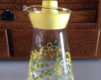 Pyrex Crazy Daisy Spring Blossom Juice Carafe