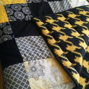 Mini Truck Baby Quilt Construction Theme Nursery Quilted
