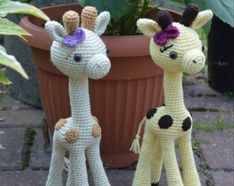 Crochet Pattern - Goldie the Giraffe
