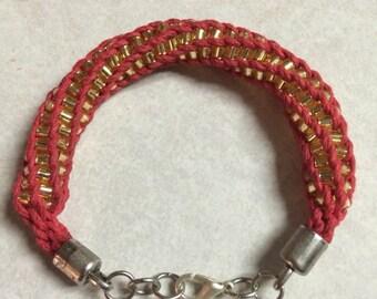 Beaded Hogwarts House Bracelet
