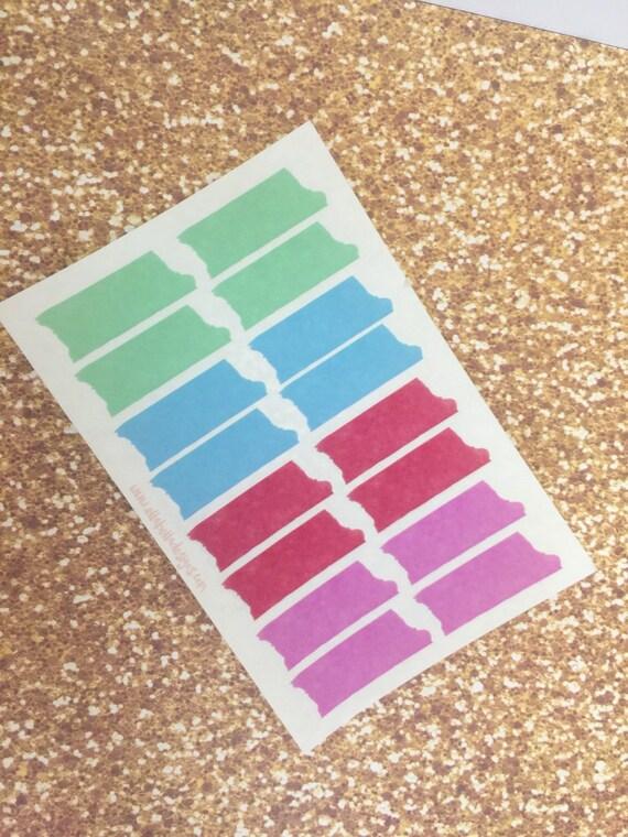 translucent tape stickers
