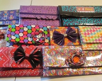 Duct Tape Clutch, Duct Tape Hand Bag, Duct Tape Purse, Make-up Bag, Free Shipping!