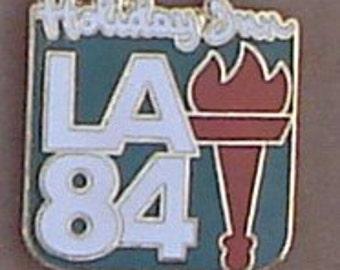 Holiday Inn 1984 L A Olympic Enamel Pin