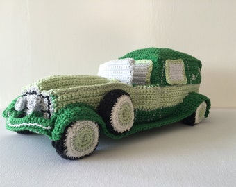 crochet pattern car