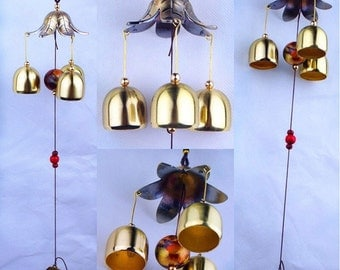 Flower wind chime